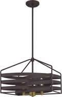 Quoizel QP5186OZ Escher Old Bronze Drop Lighting