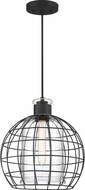 Quoizel QP5189MBK Whitman Matte Black Ceiling Light Pendant