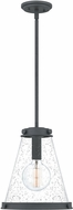 Quoizel QP5260MB Modern Mottled Black Mini Drop Ceiling Lighting