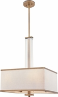 Quoizel QP5269WS Contemporary Weathered Brass Pendant Light