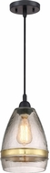 Quoizel QPP2788K Piccolo Modern Mystic Black Mini Pendant Lighting