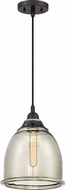 Quoizel QPP2818K Piccolo Contemporary Mystic Black Mini Hanging Light
