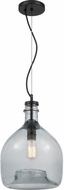 Quoizel QPP3407K Piccolo Modern Mystic Black Mini Drop Lighting