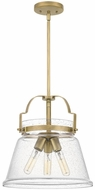 Quoizel QPP5113WS Wimberly Contemporary Weathered Brass Hanging Lamp