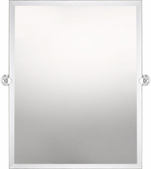 Quoizel QR3328 Reflections Polished Chrome Wall Mounted Mirror
