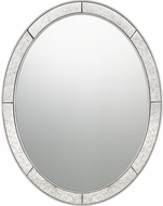 Quoizel QR3335 Reflections Silver Leaf Mirror