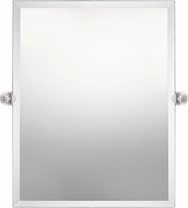 Quoizel QR5135 Impression Modern Brushed Nickel Mirror