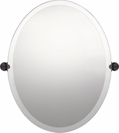 Quoizel QR5138 Impression Contemporary Oil Rubbed Bronze Mirror