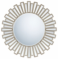 Quoizel QR983 Gwyneth Contemporary 39.5 Inch Diameter Circle Mirror