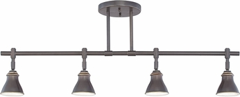 Quoizel QTR10054PN Modern Palladian Bronze Halogen Track Lighting Kit
