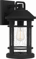 Quoizel QUY8409EK Quincy Earth Black Outdoor Wall Sconce Lighting