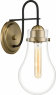 Quoizel QW4065WS Winstead Contemporary Weathered Brass Wall Light Sconce
