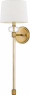 Quoizel QW4071WS Barbour Weathered Brass Wall Lamp