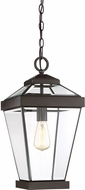 Quoizel RAV1910WT Ravine Western Bronze Outdoor Ceiling Pendant Light