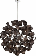 Quoizel RBN2831WT Ribbons Modern Western Bronze Xenon Pendant Lighting Fixture