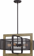 Quoizel RDC2820WT Residence Contemporary Western Bronze Ceiling Light Pendant