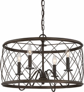 Quoizel RDY2821PN Dury Palladian Bronze Hanging Pendant Lighting