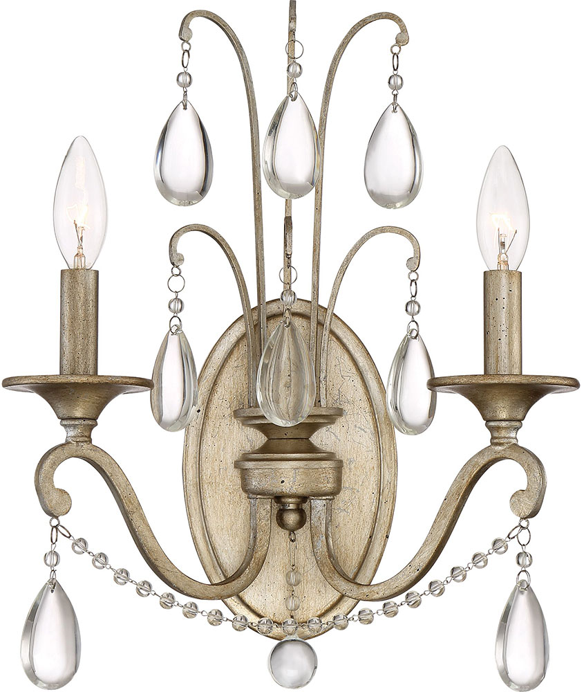 Quoizel Reg8702vg Regent Traditional Vintage Gold Wall Sconce Light Loading Zoom
