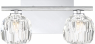 Quoizel RGA8602C Regalia Polished Chrome 2-Light Bath Lighting