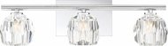 Quoizel RGA8603C Regalia Polished Chrome 3-Light Bathroom Light