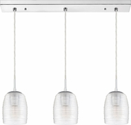 Quoizel RLM327C Realm Contemporary Polished Chrome Multi Pendant Hanging Light