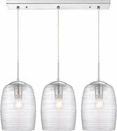 Quoizel RLM331C Realm Contemporary Polished Chrome Multi Drop Lighting