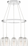 Quoizel RLM5005C Realm Contemporary Polished Chrome Multi Ceiling Light Pendant