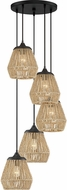 Quoizel RMI2705EK Romain Modern Earth Black Multi Lighting Pendant