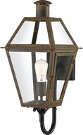 Quoizel RO8410IZ Rue De Royal Industrial Bronze Outdoor Light Sconce