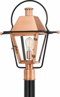 Quoizel RO9018AC Rue De Royal Aged Copper Outdoor Post Light Fixture