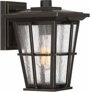 Quoizel RPT8407PN Rockport Palladian Bronze Exterior 7  Wall Sconce