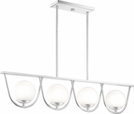 Quoizel RSO442C Russo Modern Polished Chrome Halogen Island Light Fixture