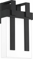 Quoizel RUB8408MBK Ruben Contemporary Matte Black Outdoor Lamp Sconce