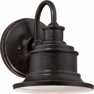 Quoizel SFD8407IB Seaford Retro Imperial Bronze Finish 8.5  Tall Exterior Wall Mounted Lamp