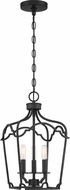Quoizel SMV5210MBK Somerville Matte Black Mini Pendant Light Fixture