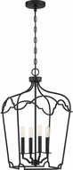 Quoizel SMV5214MBK Somerville Matte Black Entryway Light Fixture