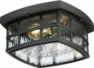 Quoizel SNN1612K Stonington Mystic Black Outdoor Flush Mount Lighting