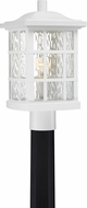 Quoizel SNN9009W Stonington Fresco Exterior Post Light Fixture