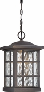 Quoizel SNNL1909PN Stonington LED Palladian Bronze LED Outdoor Ceiling Light Pendant