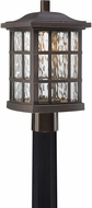 Quoizel SNNL9009PN Stonington LED Palladian Bronze LED Outdoor Post Lamp