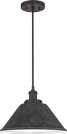 Quoizel SPW1512OZ Sparrow Old Bronze Pendant Lighting Fixture
