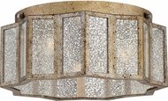 Quoizel SRE1616AGL Shrine Modern Aged Gold Flush Lighting