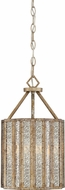 Quoizel SRE5203AGL Shrine Contemporary Aged Gold Mini Hanging Light