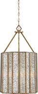 Quoizel SRE5204AGL Shrine Modern Aged Gold 16  Pendant Light Fixture