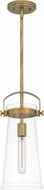 Quoizel STLC1507WS Stella Weathered Brass Mini Hanging Pendant Light