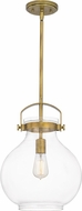 Quoizel STLC1512WS Stella Weathered Brass Drop Lighting