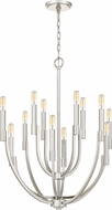 Quoizel STN5012PK Strand Contemporary Polished Nickel Chandelier Lighting