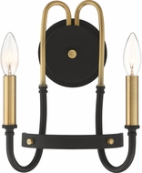 Quoizel TAN8712WT Tanner Western Bronze Wall Sconce Lighting