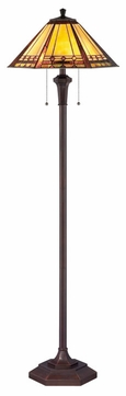 Quoizel TF1135F Arden Transitional Resin Shade 59.5 Inch Tall Floor Lamp