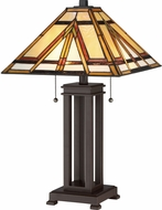 Quoizel TF2095TRS Tiffany Tiffany Russet Table Lamp
